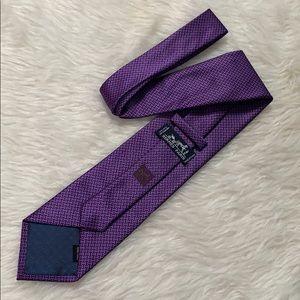 Hermes 100% Silk Men's Neck Tie
